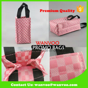 Custom Promotional Nylon Gift Bag for Wine Packaging pictures & photos