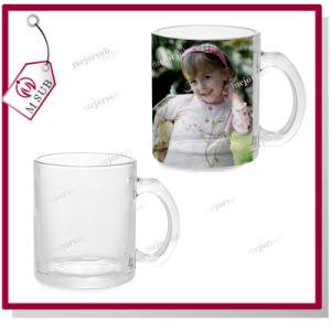 11oz Sublimation Transparent Glass Mug with Custom Design pictures & photos