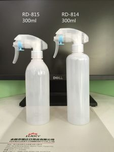 300ml Pet Trigger Bottle with High Atomization Nozzle pictures & photos