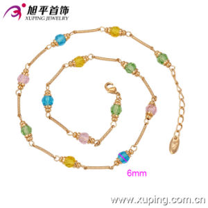 Xuping Fashion Necklace 18k Gold Color Lantern Decoration (42499) pictures & photos