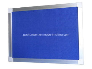 Hot Sale Bulletin Board with Aluminum Frame and Hanger for Teaching