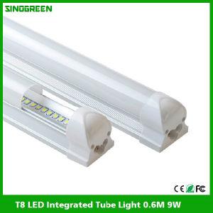 High Quality T8 LED Integrated Tube Light LED Tube Lamp 0.6m 9W