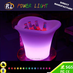 Bar Nightclub Color-Changing LED Ice Cooler pictures & photos