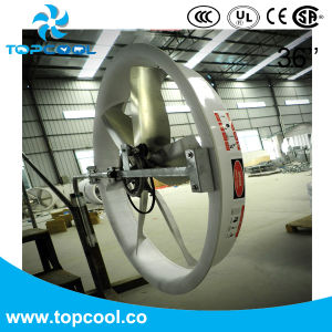 "230V 60Hz 1pH 36"" Re-Circulation Panel Fan for Dairy Farm pictures & photos"
