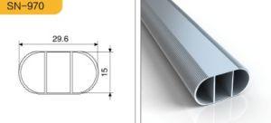 6063 T5 High Quqlity Aluminum Rail Tube for Wardobe