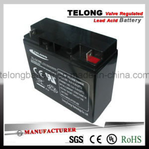 12V18ah UPS Battery Lead Acid Battery with CE RoHS UL Approval pictures & photos
