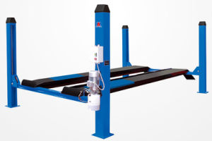 Single-Point Lock Release Four Post Car Lift C440