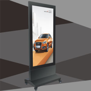 Free Standing LED Light Box with Magnetic Panel Aluminum Frame Doubled Side Advertising Display pictures & photos