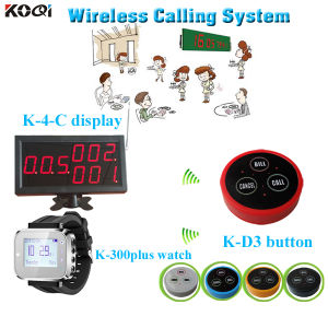 Long Distance Transmitter Wireless Wrist Watch Pager Equipment Calling Sound System pictures & photos