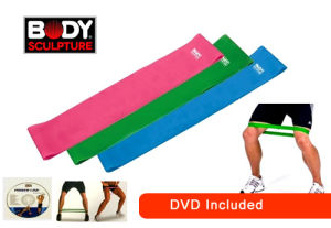 Latex Aerobic Band Resistance Aerobic Bands pictures & photos