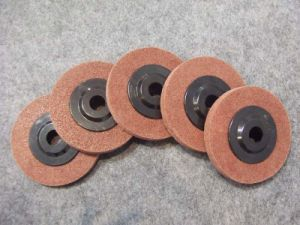 Maroon Color Polishing Disc pictures & photos