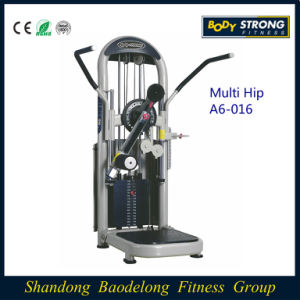 Body Building Gym Equipment/Commercial Fitness Equipment Multi-Hip Machine A6-016 pictures & photos