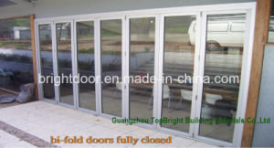 Modern Aluminum Bi Fold Glass Door Exterior Designs Prices pictures & photos