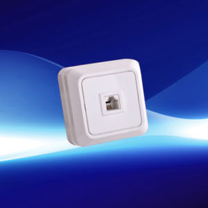 European Telephone Socket One Gang (YW1807)
