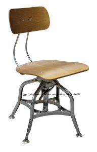 Modern Industrial Dining Turner Vintage Toledo Wooden Bar Stools Chair pictures & photos