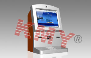Desktop Multi-Function Card Dispensing Self Service Kiosk pictures & photos