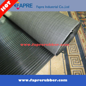 3mm Thick Corrugate Rubber Flooring Mat pictures & photos