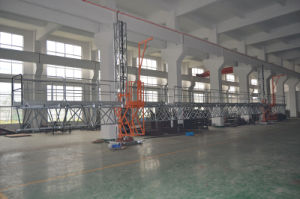 Mast Climbing Work Platform/Twin ISO: 9001 pictures & photos