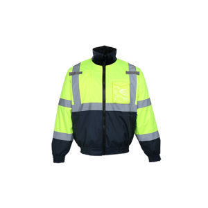 High Quality Reflective Padded Bomber Jacket