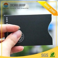 Aluminum Foil Paper RFID Shielding Sleeve for Credit Card pictures & photos