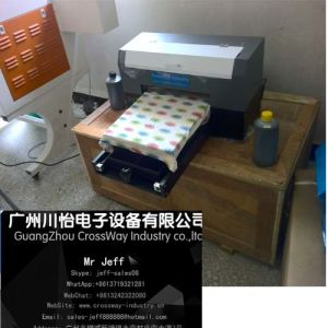 A3 Size High Speed Digital Flatbed T Shirt Printer