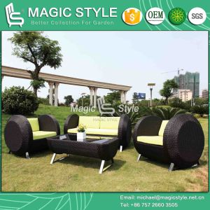 (Castle Sofa Set) Rattan Sofa New Design Sofa Wicker Sofa Morden Sofa (Magic Style) Hotel Project pictures & photos