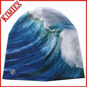 Winter Promotion Sublimation Printing Knitted Hat pictures & photos