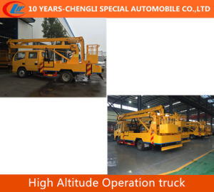 4X2 High Platform Operation Truck High Altitude Operation Truck pictures & photos
