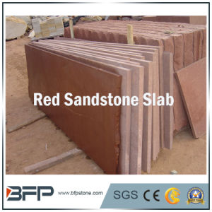 Natural Red Sandstone Slabs for Wall Cladding Tiles Outdoor Paving Tiles pictures & photos