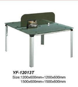 Modern Glass Furniture Workstation