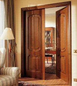 Topbright Wooden Interior Timber Balcony Door pictures & photos