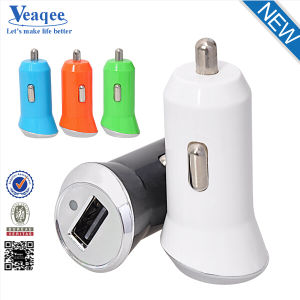 2.4A Dual USB Car Charger Adapter with CE, RoHS Certification