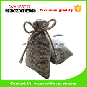 Wholesale Nature Coffee Bag with Bowknot pictures & photos