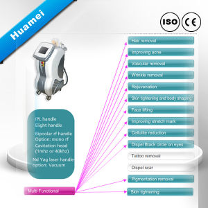 Multifunctinal Beauty Salon Equipment (hair removal, skin care and fat loss) pictures & photos