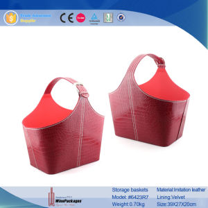Made in China Wholesales Manufacturer Wine Storage Basket pictures & photos