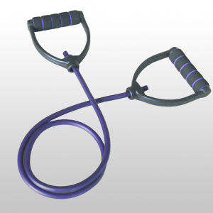 Latex Colored Exercise Band for Body-Building