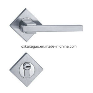 Satin Finish Stainless Steel Level Handle with Lock (SEL-014) pictures & photos