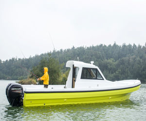 All New 30FT Fiberglass Fishing Cabin Boat pictures & photos