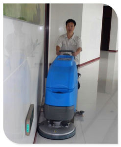 Hand Push Marble Floor Cleaning Scrubber pictures & photos