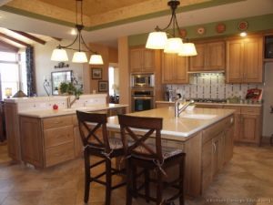 Light Wood Kitchen Cabinet (lw11) pictures & photos