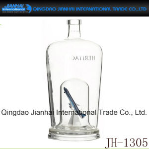 Wholesale Clear Glass Bottle for Wine pictures & photos