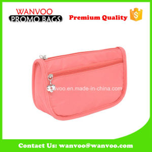 Hot Selling Wearproof Canvas Cotton Washable Cosmetic Bag pictures & photos