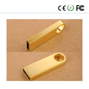 New USB Flash Pen Memory Stick Key Drive U Disk Gold Se9 pictures & photos