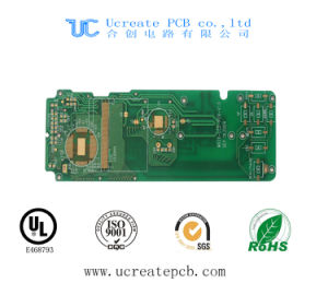 1.6mm PCB for USB Charger with Green Solder Mask pictures & photos