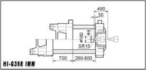 398t Plastic Injection Molding Machine Hi-G398 pictures & photos