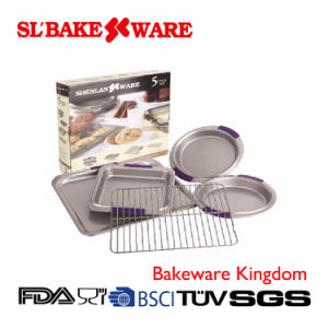 5PCS Bake Set Carbon Steel Nonstick Bakeware (SL BAKEWARE)