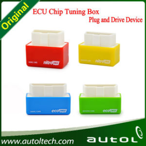 Nitro OBD2/Eco OBD2 OBD2 Chip Tuning Box Lower Fuel and Lower Emission for Benzine Gasoline and Diesel Cars pictures & photos
