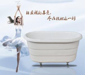 Acrylic Freestanding Children Double Insulation Bathtub