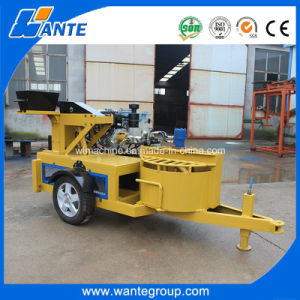 Diesel Engine Wt1-20m Hydraulic Pressing Brick Machine/Clay Solid Brick Machine pictures & photos