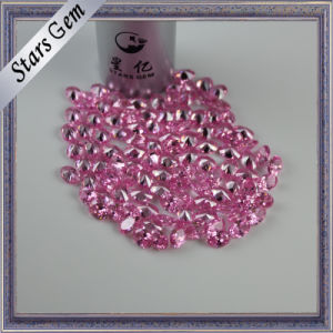 Fashion Small Size Pink Cubic Zirconia Stone for Jewelry Setting pictures & photos